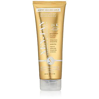 Xen-Tan Premium Sunless Tan Scent Secure Gold Tinted Moisturizer 8oz/236ml New