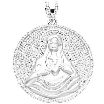 Premium Bling - 925 Sterling Silber MARIA Anhänger