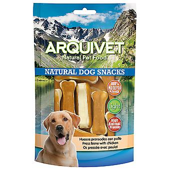 Arquivet Natural Snack for Dogs Pressed Bones with Chicken
