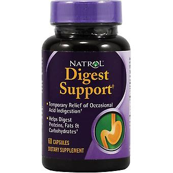 Natrol Digest Support 60 caps (Sport , Athlete's health , Digestive health)