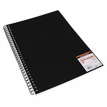 Daler Rowney graduado libro del bosquejo - 30 páginas espiral A3