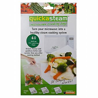 Caraselle Quickasteam magnetron koken zak 2-4 porties, 40 per pak