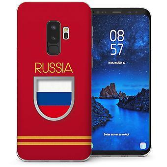 Samsung Galaxy S9 Plus Russland World Cup TPU Gel Fall
