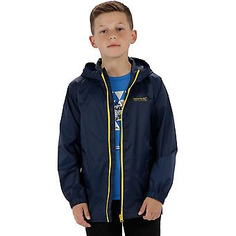 Regatta Boys & Girls Pack-It Packable Waterproof Breathable Jacket