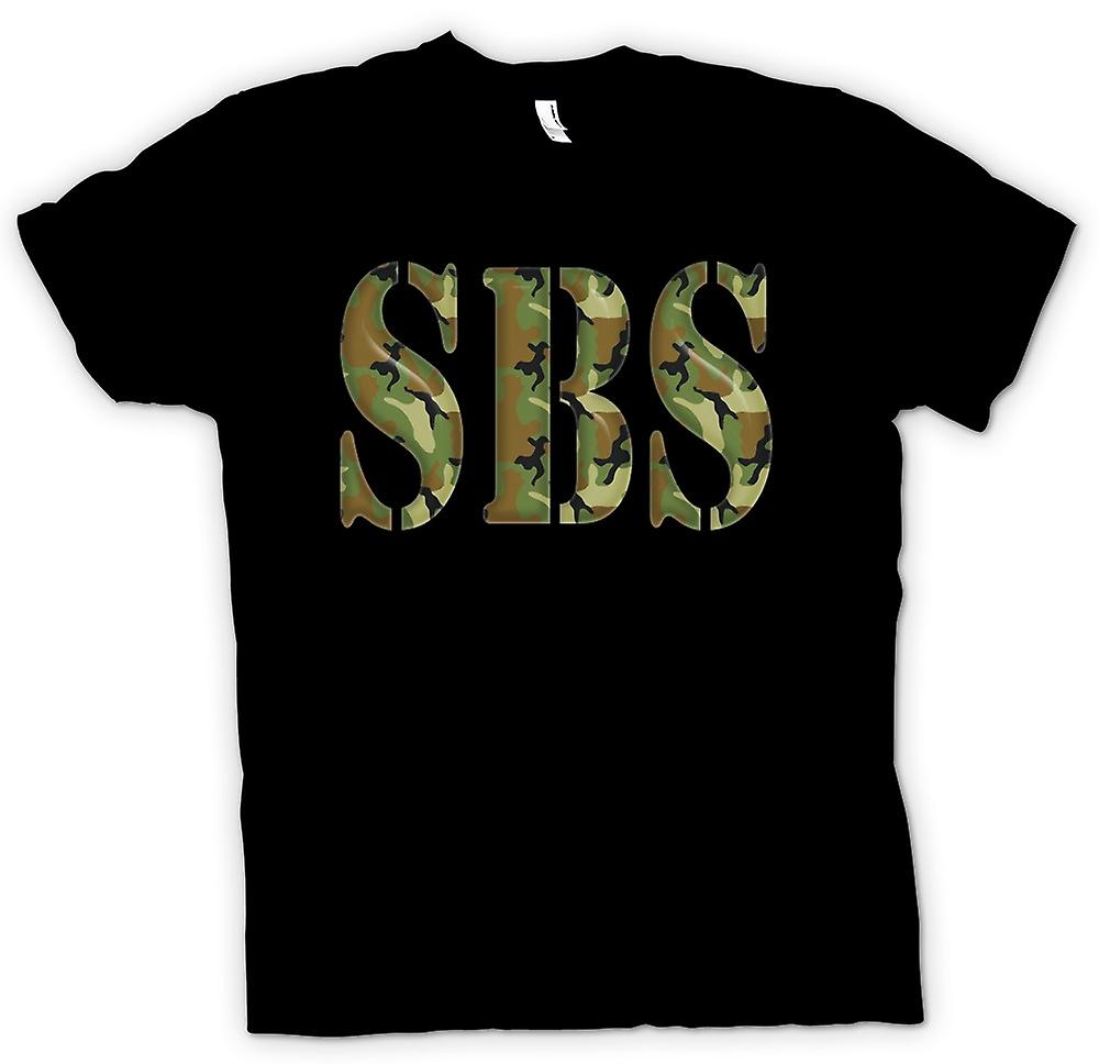 Heren T-shirt-SBS speciale boot Service