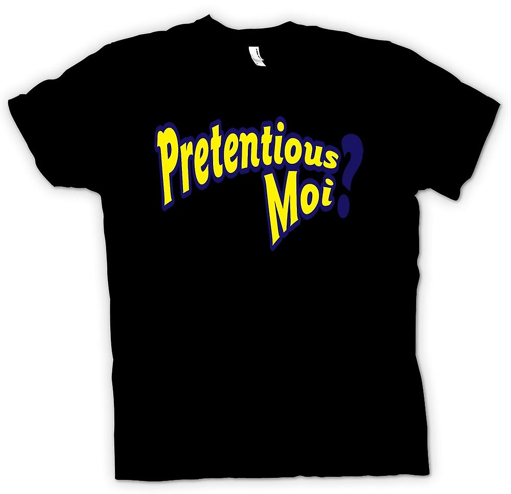 Mens T-shirt - Pretentious Moi - Funny