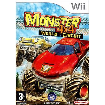 4 X 4 monster World Circuit (Wii)