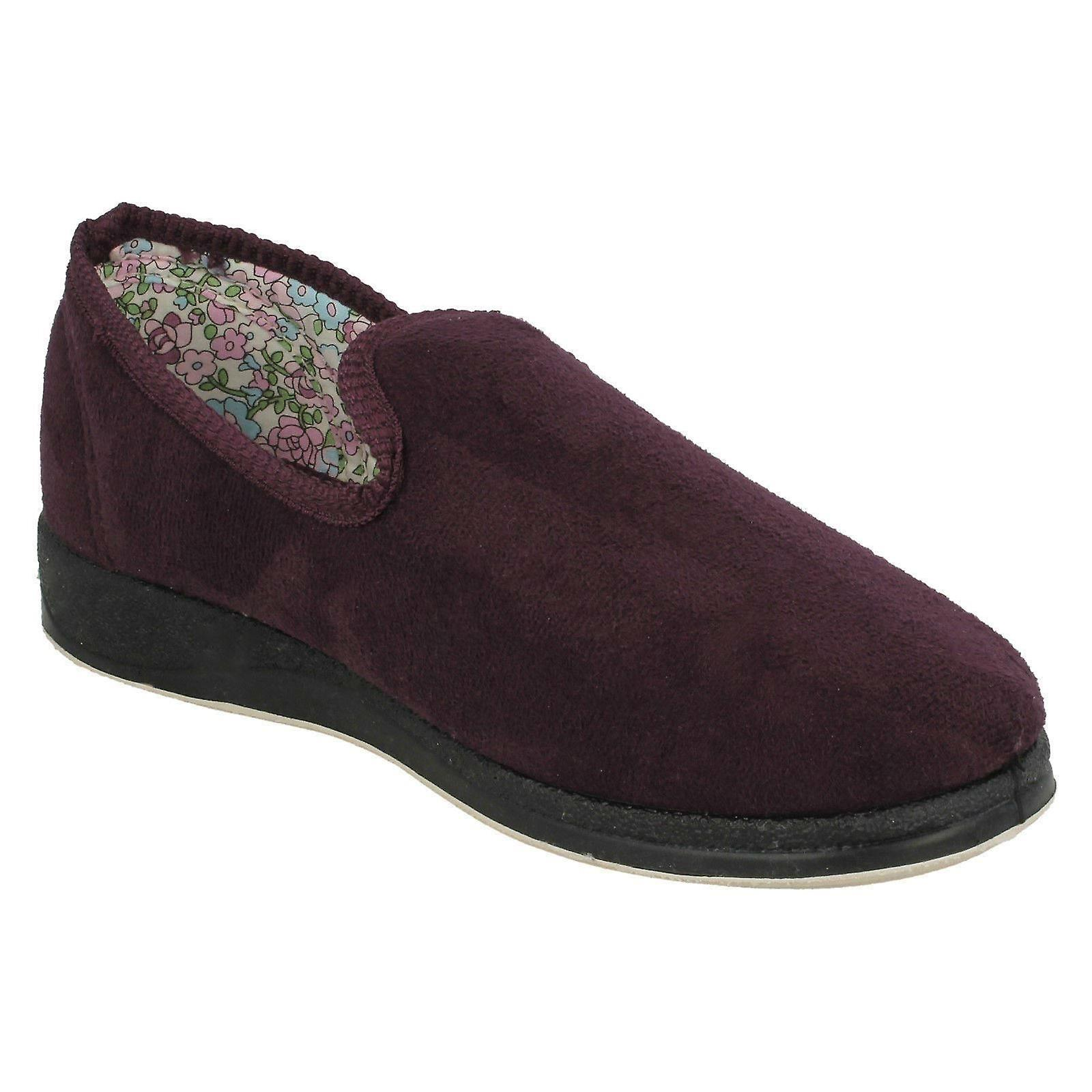 43 EU 11 Size Repose Padders Size Size Textile On 9 Purple Slipper Ladies Slip US UK Shoes 18 2E 4OZ6qwg