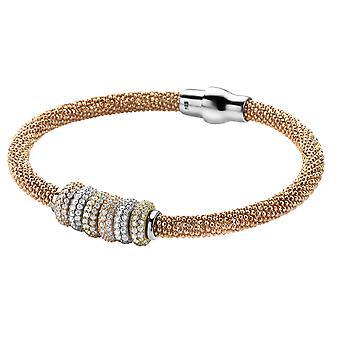 Orphelia Silber 925 Rose Armband W / Multicolor Element ZA-6098