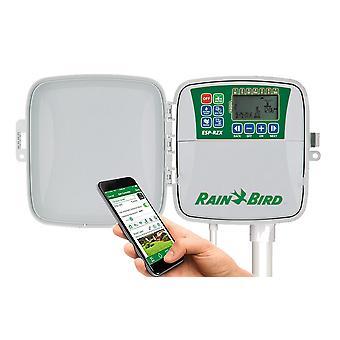 Rain Bird ESP RZX6 6-stacja 230/240 VAC odkryty kontrolera, z tworzyw sztucznych, Szafka