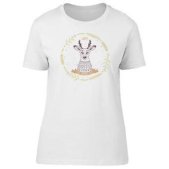 Glücklich Hirsch mit Pullover T-Shirt Damen-Bild von Shutterstock 45eff23c3b