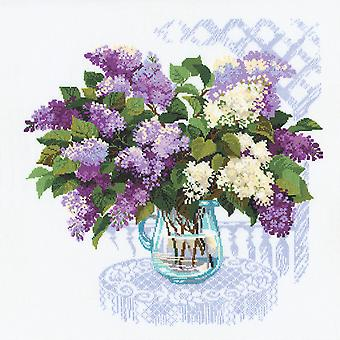 The Smell Of Spring Counted Cross Stitch Kit-17.75