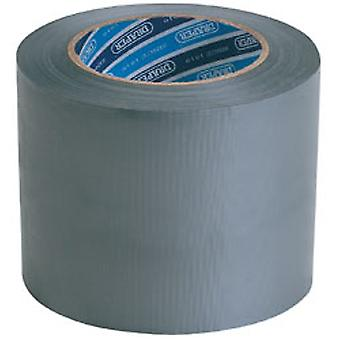 Draper Tp-koker/A 33 M X 100 Mm grijs Duct Tape Roll
