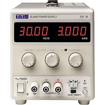 But de TTi EL303R banc de bloc d'alimentation (tension réglable) 0 - 30 v CC 0 - 3 90 W no des sorties 1 x