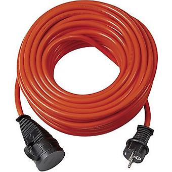 Brennenstuhl 1161600 Current Cable extension 16 A Orange 25 m