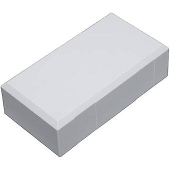 Connector housing 125 x 67 x 50 Polycarbonate (PC), Acrylonitrile butadiene styrene Light grey Conrad Components ESO 12