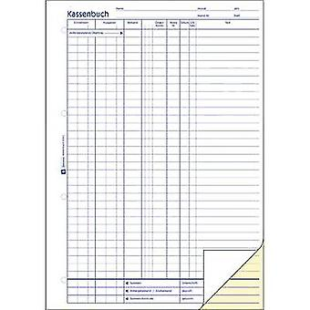 Avery-Zweckform Cashbook 1756 A4 White No. of sheets: 40
