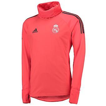 2018-2019 real Madrid Adidas UCL värma upp Top (röd)