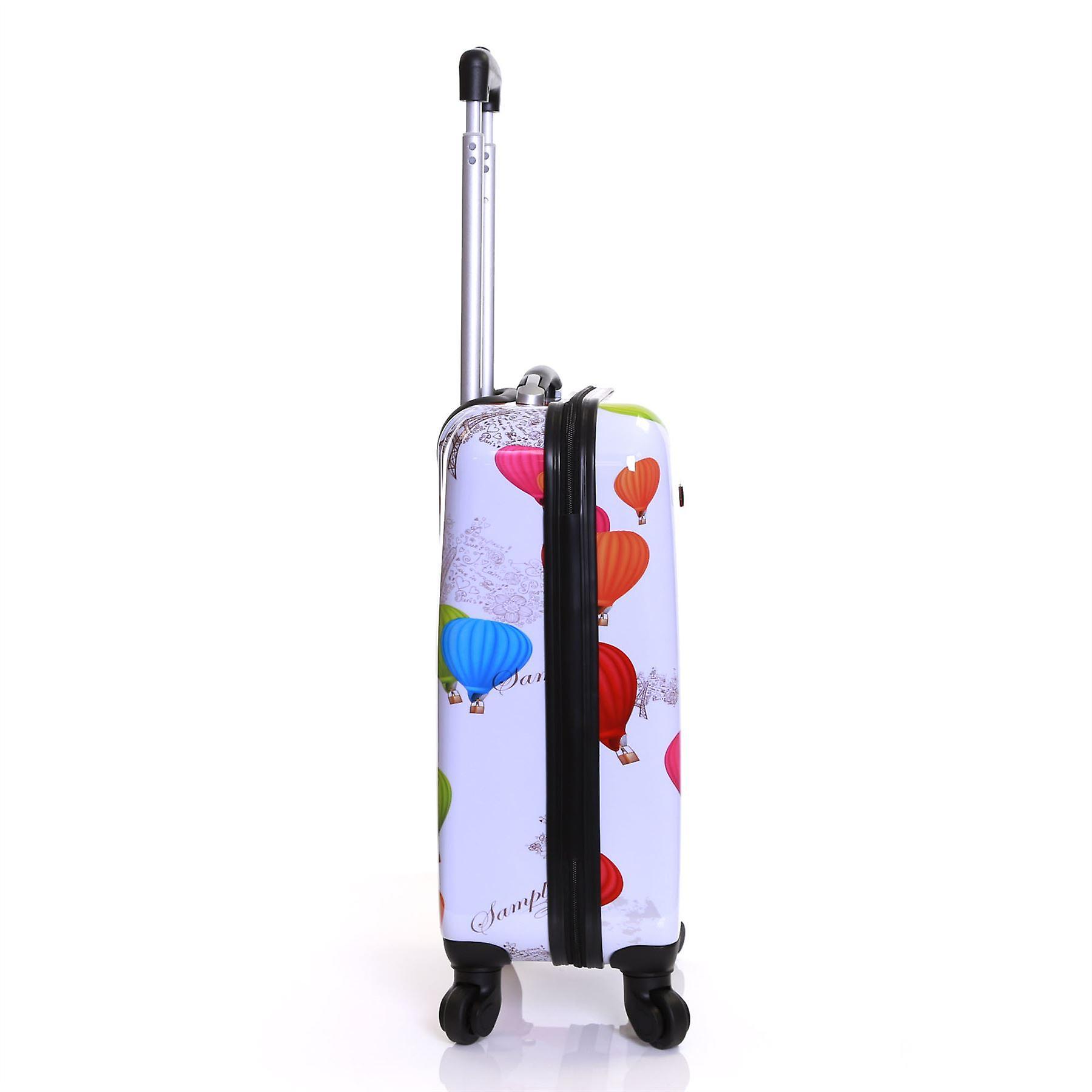 Karabar Dewberry 55 cm Hard Suitcase, Balloons