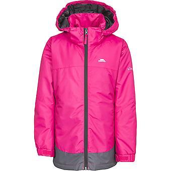 Trespass piger Rhina vandtæt vindtæt isoleret varm jakke frakke