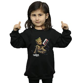 Marvel Girls Guardians of the Galaxy Groot Tape Sweatshirt