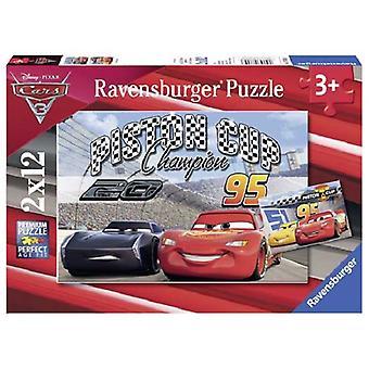 Ravensburger puzzel Cars 3  2x12pc