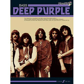 Deep Purple authentiek Playalong Bass - basgitaar Songbook door diepe Pu