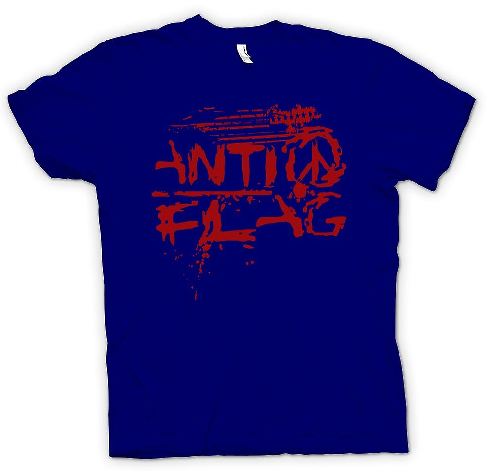 Herren T-Shirt - Anti - Flag - US - Punk Rock Band - Anarchy