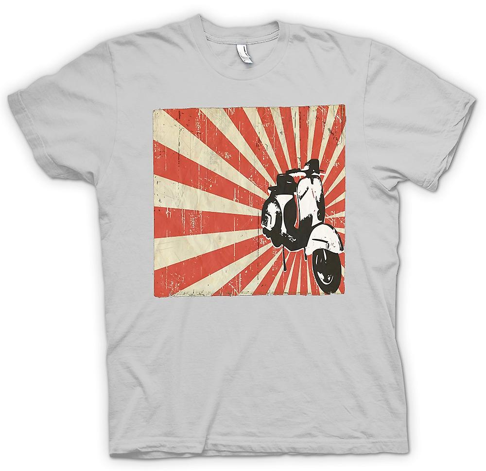 Mens t-skjorte - Vespa kult Design - Pop Art