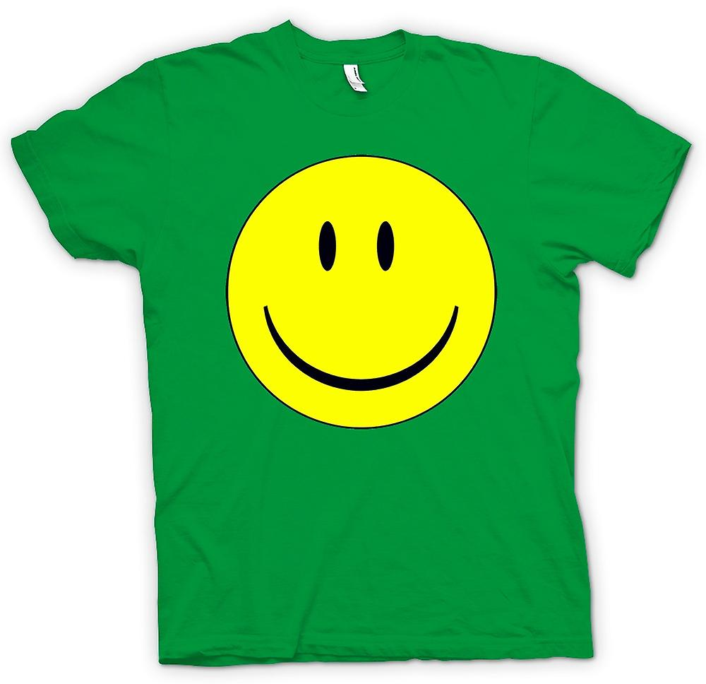 Mens t-skjorte - miley ansikt - Acid House