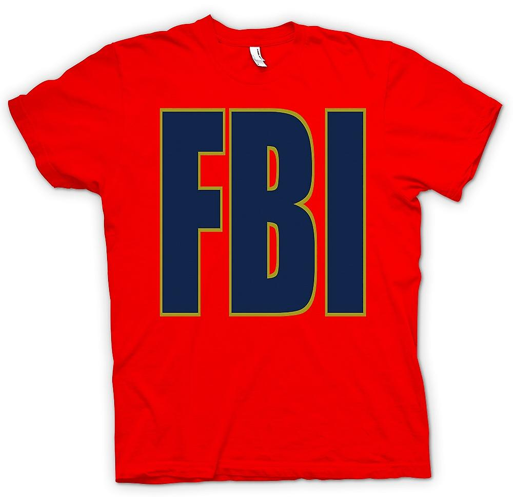 Heren T-shirt - FBI Military - Slogan