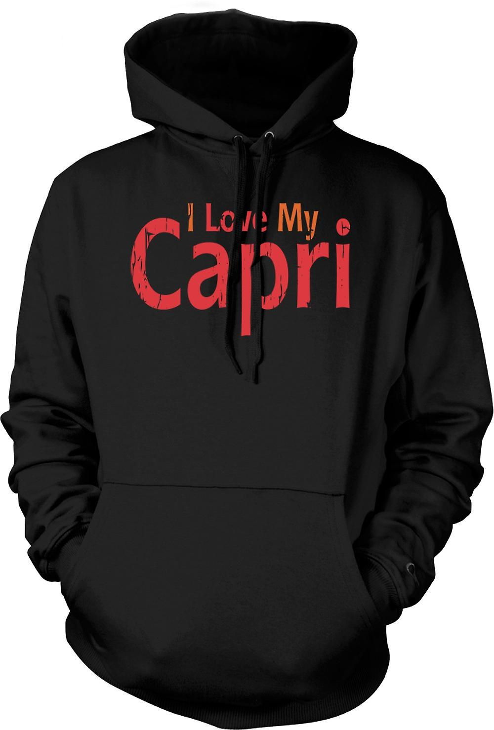Mens Hoodie - I Love My Capri - Car Enthusiast