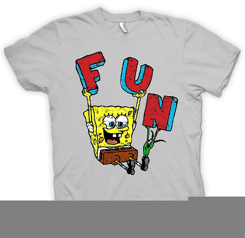 Mens T-shirt - Sponge Bob - Fun