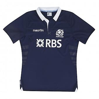 2013-14 Scotland Macron Home Rugby Replica Shirt