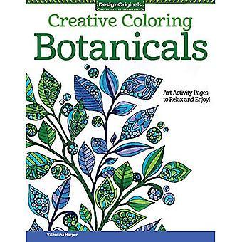 Creatief kleuren Botanicals: Art activiteit pagina's om te ontspannen en te genieten!