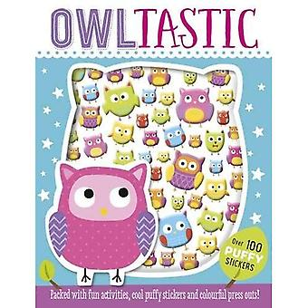 Owltastic Puffy Sticker Book