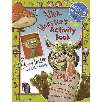 Alien Monster's Slimy Activity Book