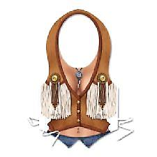 Plast Cowgirl Vest