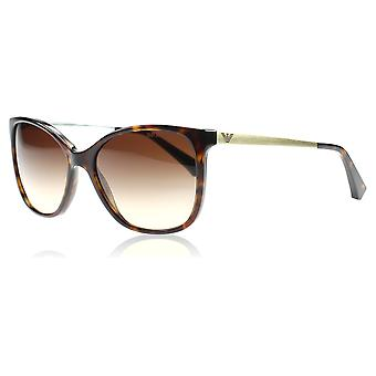 Emporio Armani EA4025 502613 Tortoise EA4025 Cats Eyes Sunglasses Lens Category 3 Size 55mm