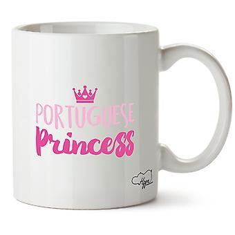 Принцесса Португальский Hippowarehouse печати Кубка керамическая кружка 10oz