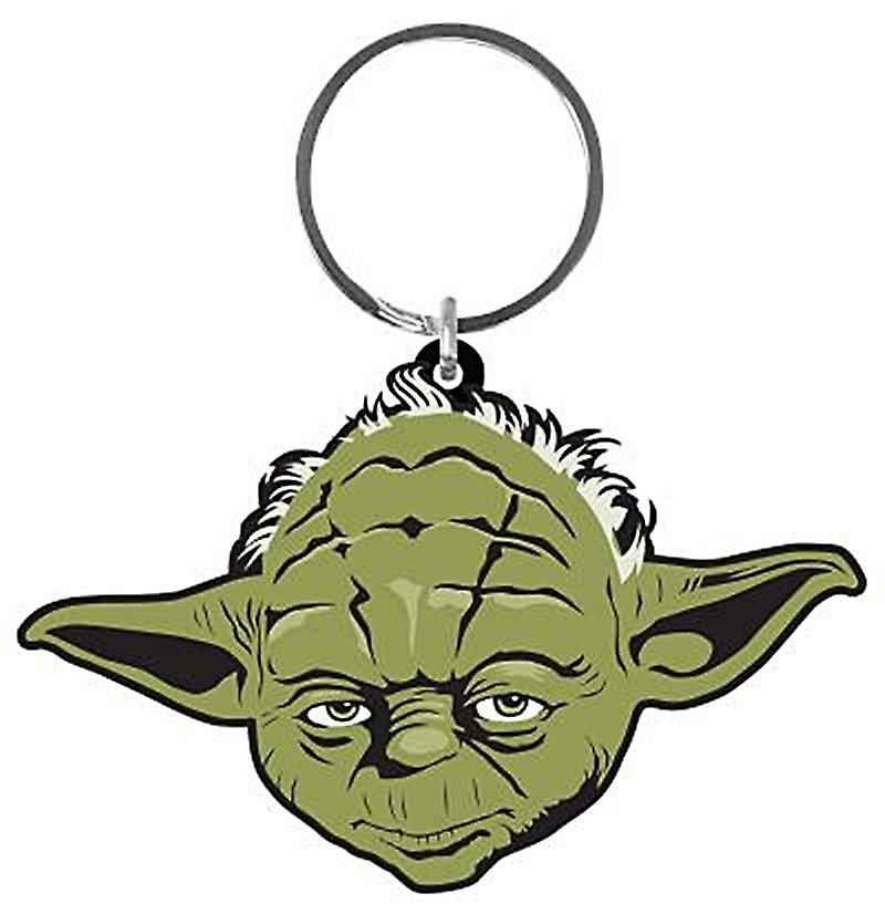 Yoda Star WarsPVC flexible keyring (py)