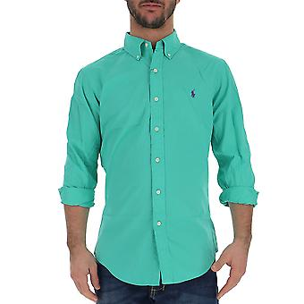 Ralph Lauren Green Cotton Shirt