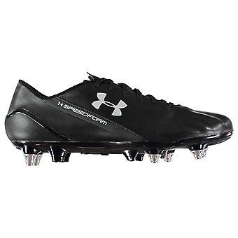 تحت الدروع سبيدفورم رجالي أحذية سان جرمان لكرة القدم الهجين الأرض الرخوة الرباط حتى مبطن