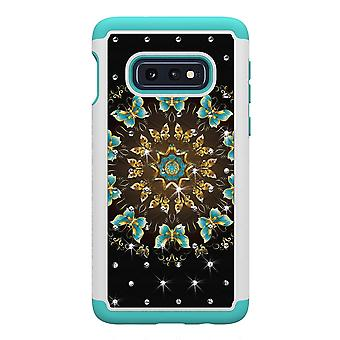 Samsung Galaxy S10e TPU Shell armadura Extra Durable bastante mariposas