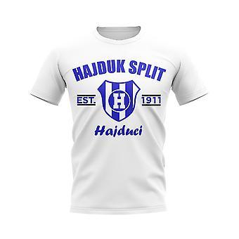 Hajduk Split establecido fútbol camiseta (blanco)