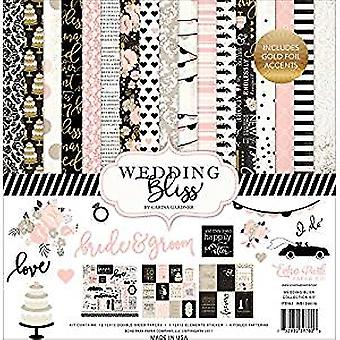 Echo Park Paper Company Wedding Bliss 12x12 Inch Collection Kit (WB129016)