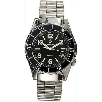 Zeno-watch mens watch army diver quartz 485Q-a1M