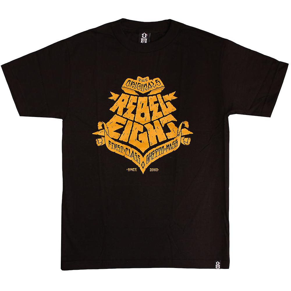 Rebel8 Ghetto Pass T-shirt zwart