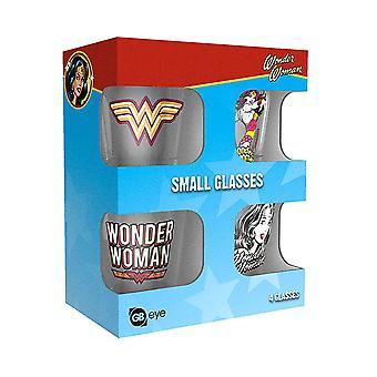 Wonder Woman Shot Glasses