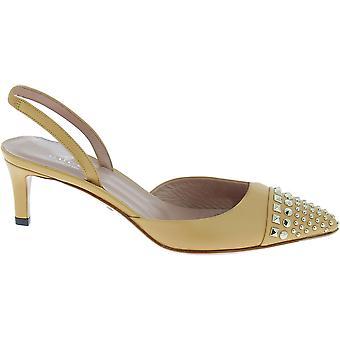 Sandalias de piel beige Gucci